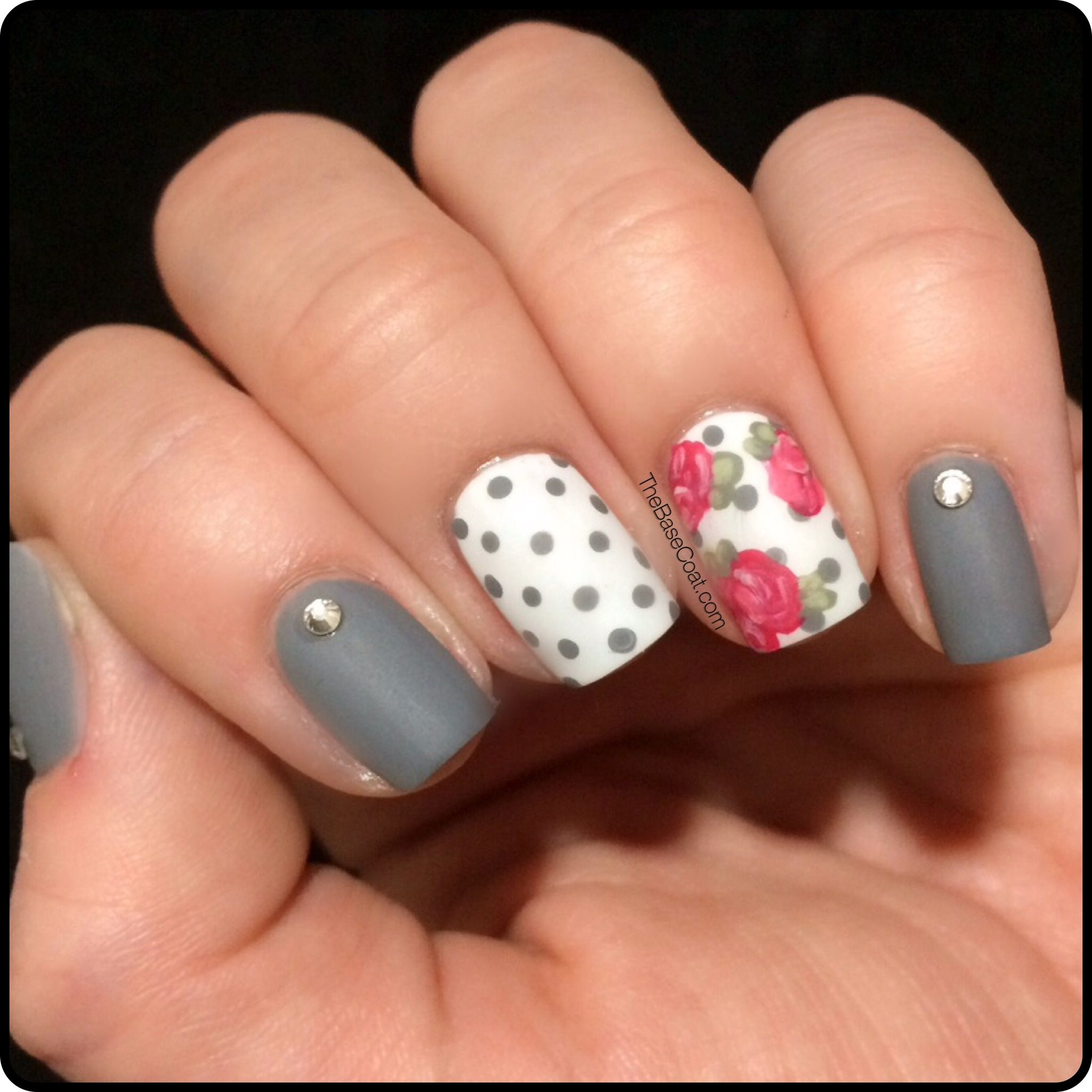 Ideas For Nails Design 25 best ideas about light pink nail designs on pinterest pretty nail art nail stuff and cute nail art Spring Nail Art Ideas To Spruce Up Your Paws Shabby Chic Spring Nail Art Ideas