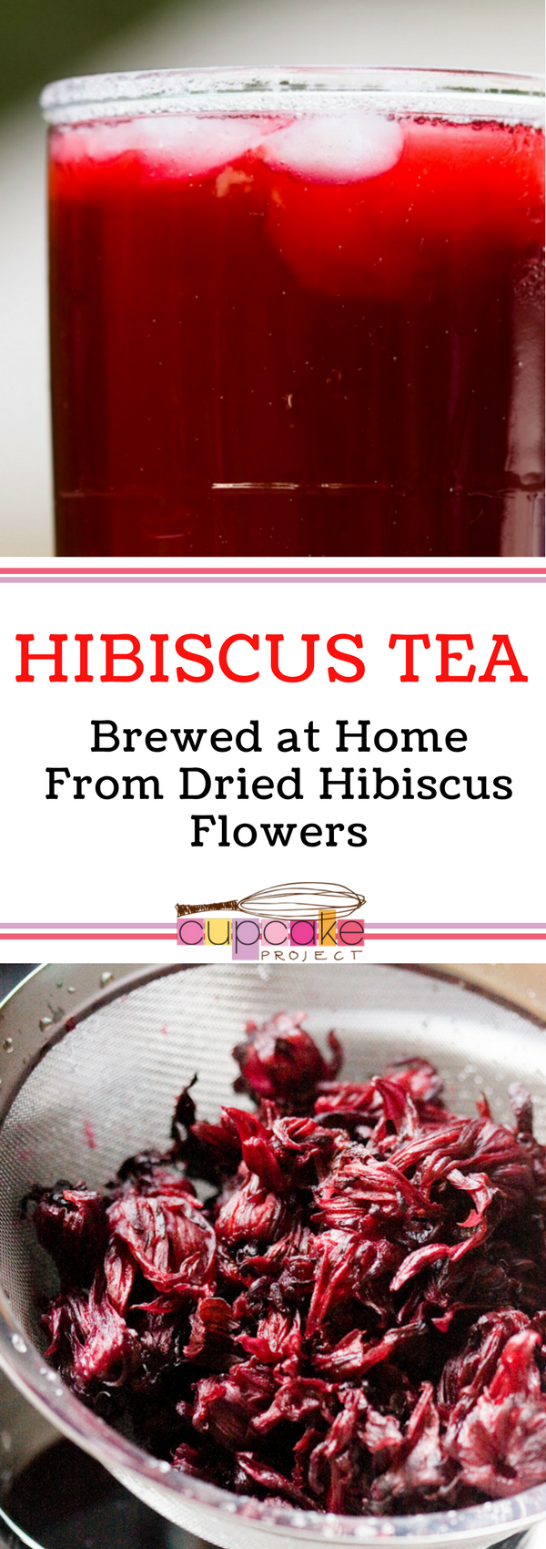Hibiscus tea brewed at home from dried hibiscus flowers recipe hibiscus tea brewed at home from dried hibiscus flowers recipe cupcake project by cupcake project pinterest hibiscus tea baking dessert recipes izmirmasajfo