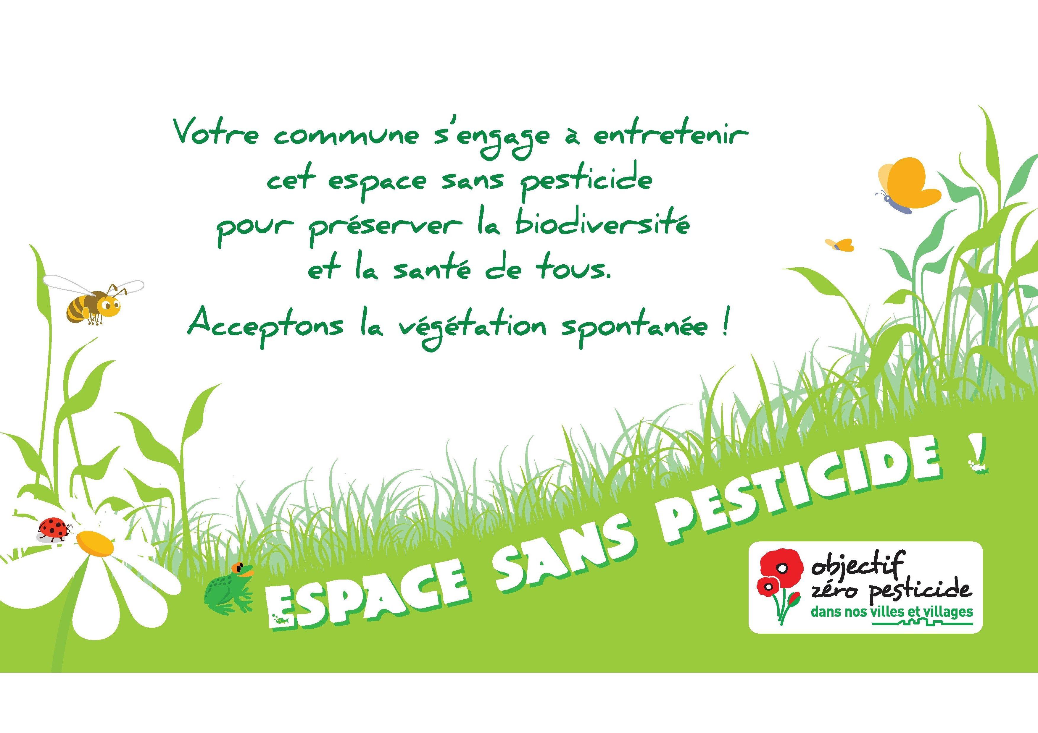 Services A La Population Environnement Nature Et Biodiversite Espace Sans Pesticide Biodiversite Pesticides Environnement