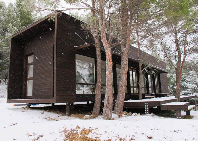 maison en bois en kit dans l'aude