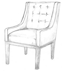 Merveilleux HF 265   Chair   Hallman Furniture