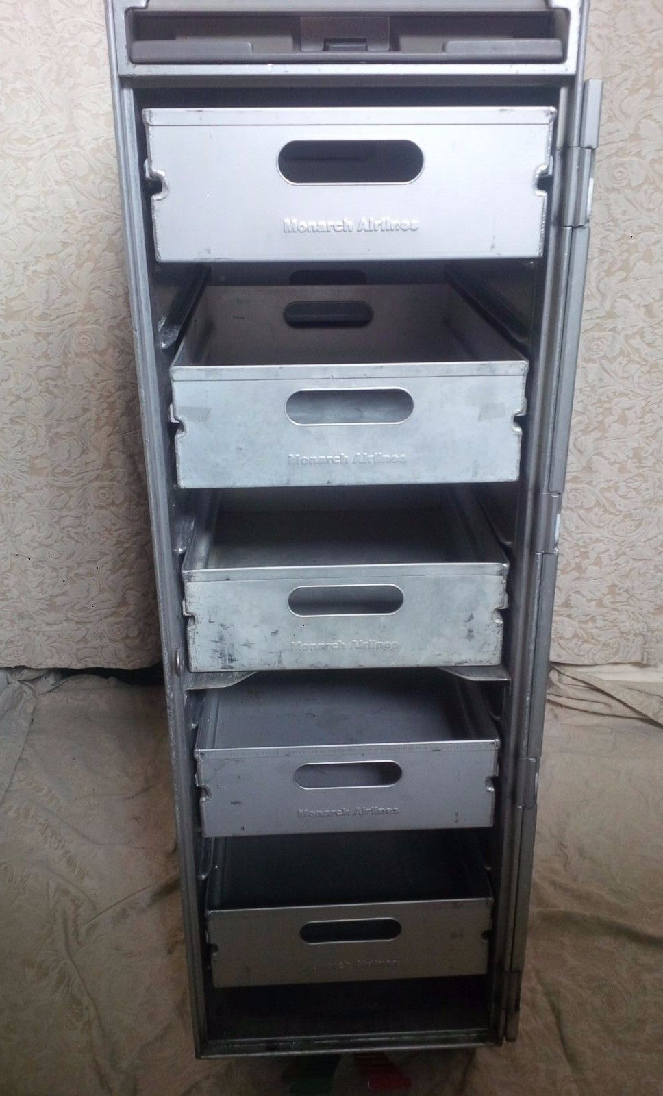 White Wood Aircraft Galley Catering Service Trolley Airline Full ...