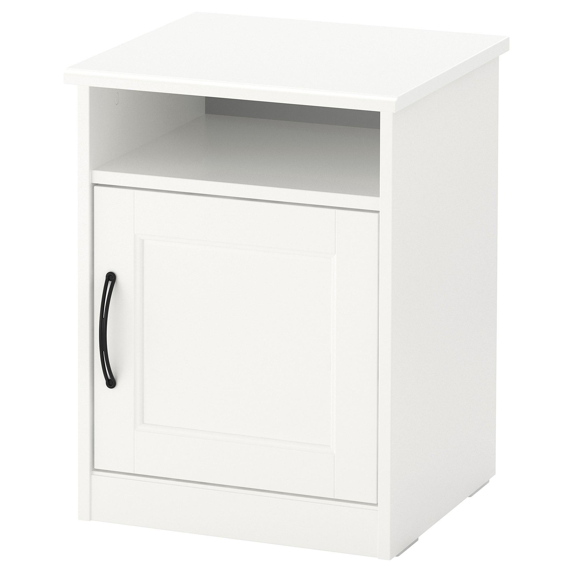 Armadio Metallico Esterno Ikea songesand comodino - bianco 42x40 cm | idee ikea, comodini