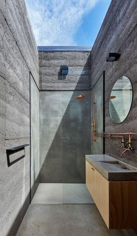 Magnifique salle de bain dedans/dehors Salle de bain Pinterest
