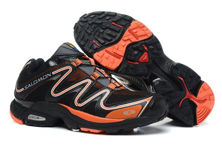 Xt Salomon Hawk HerreSko Sort Orange Pinterest VzSqMpUG