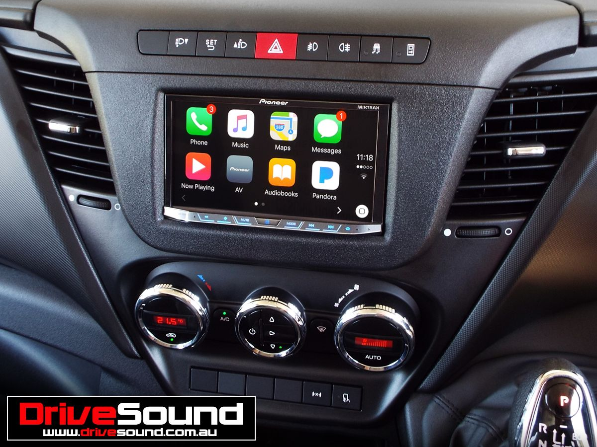 Iveco Daily with Apple CarPlay installed by DriveSound. | Apple CarPlay | Pinterest | Android ...