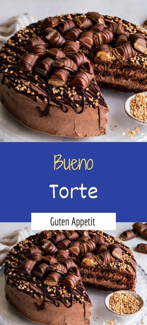 Zutaten 1 portionen umrechnen 1 tortenboden (wiener), mit 3 böden für die füllung: 3 pck. Schokolade (kinder bueno) 4 becher schlagsahne 4 tüte/n sahnesteif 4 tüte/n vanillinzucker 100 g mandel(n), gehackt zum verzieren: 1 pck. Schokoguss, haselnussguss oder nougatguss 1/2 becher schlagsahne 6 stück(e) konfekt (giotto) 8 stück(e) konfekt (kinder bueno mini) 2 stück(e) schokoriegel … #schnelletortenrezepte