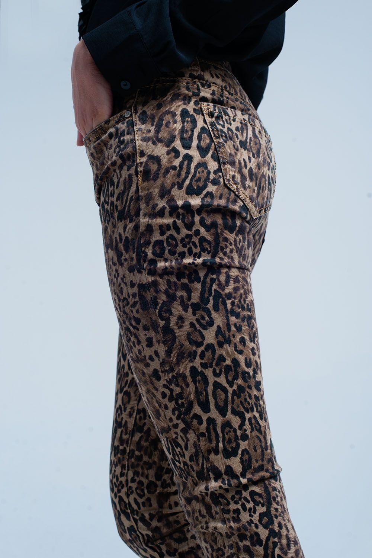 38684e116378 Leopard print skinny jeans | Animal Print Leopard in 2019 | Printed ...
