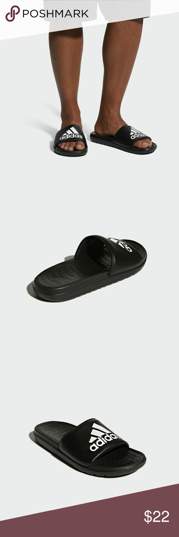 666a0dc125d0c5 Adidas VOLOOMIX SLIDES CP9446 VOLOOMIX SLIDES SLIDES BUILT FOR POST-WORKOUT  COMFORT. Give your