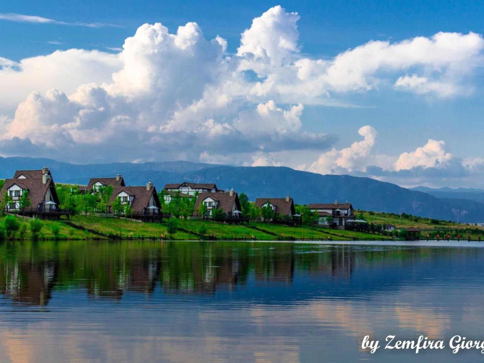 Paradise On Earth Silent Lake Shamakhi And Safari Park Lake Hotel Paradise On Earth Safari Park