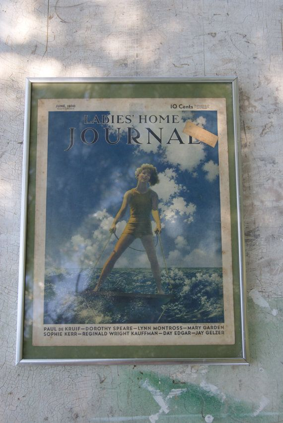 Maxfield Parrish Ladies Home Journal Cover from June 1930 ...