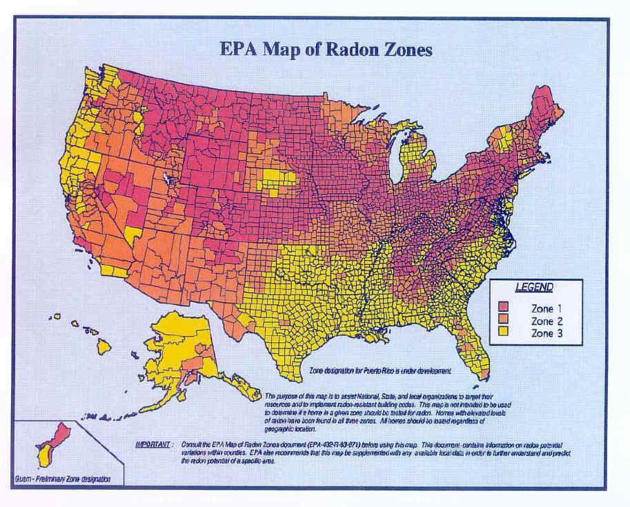 Radon is a soil gas found in many parts of the United States | Whole ...