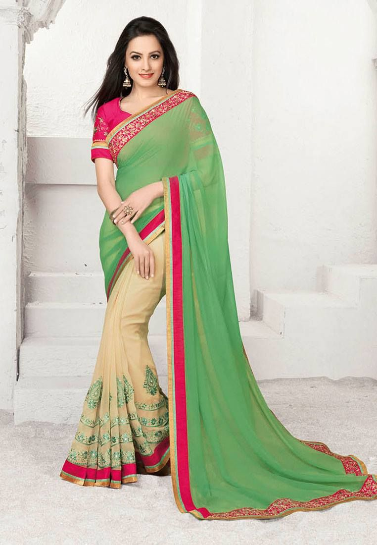 439b43aeaec4a2 Pin by Shree Devi Textile on Synthetic Fancy Sarees