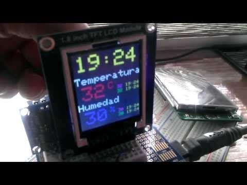 Mini Arduino Environment sensor - YouTube