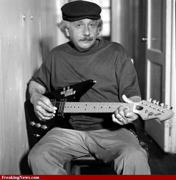 A side of Einstein that I didn't know about.