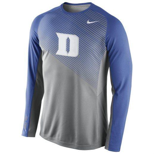 d6049a07a Nike Duke Blue Devils Shootaround Long Sleeve T-Shirt  bluedevils  duke   college