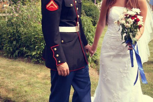 Us Marines Dress Blues Wedding Source Haleyawxo