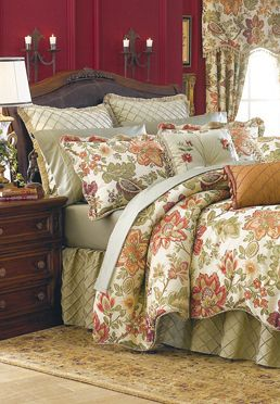 "festival-bedding-collection/ from the ""biltmore"" collection 