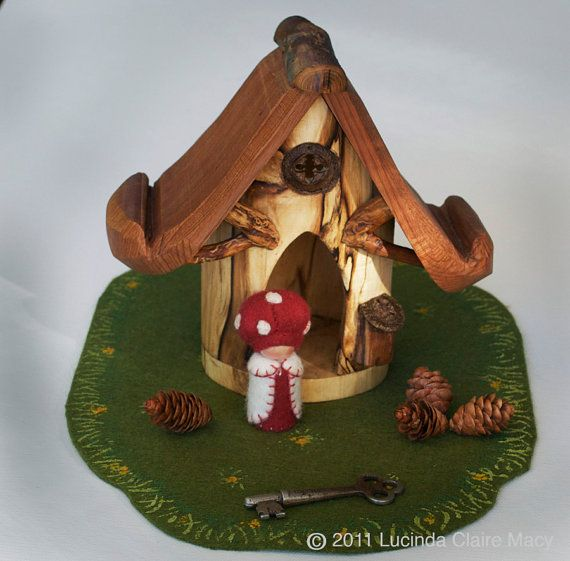 Fairy and Elf house by willodel on Etsy