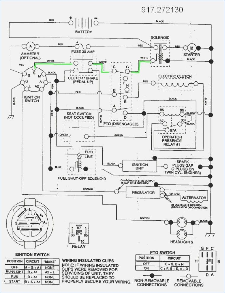 Wiring Diagram  33 Craftsman Gt5000 Wiring Diagram