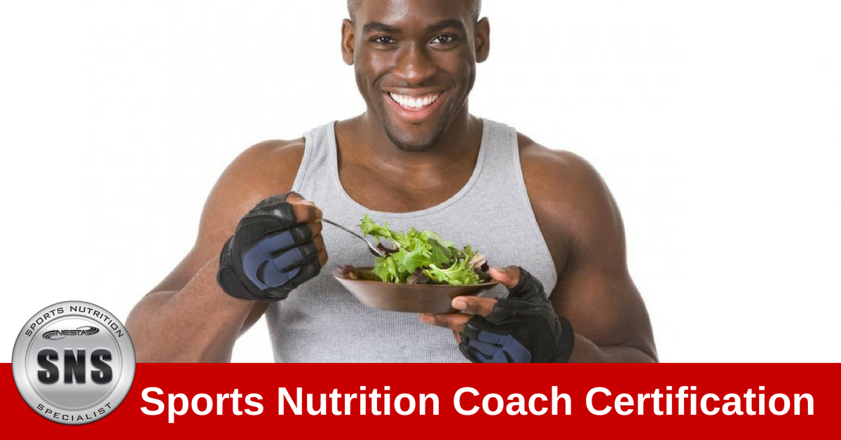 Sports Nutrition Specialist Certification NESTA CECs