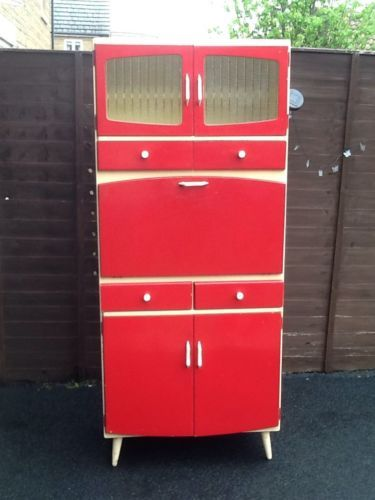 Vintage Retro 1960s Kitchen Larder Unit Cupboard By Remploy ...