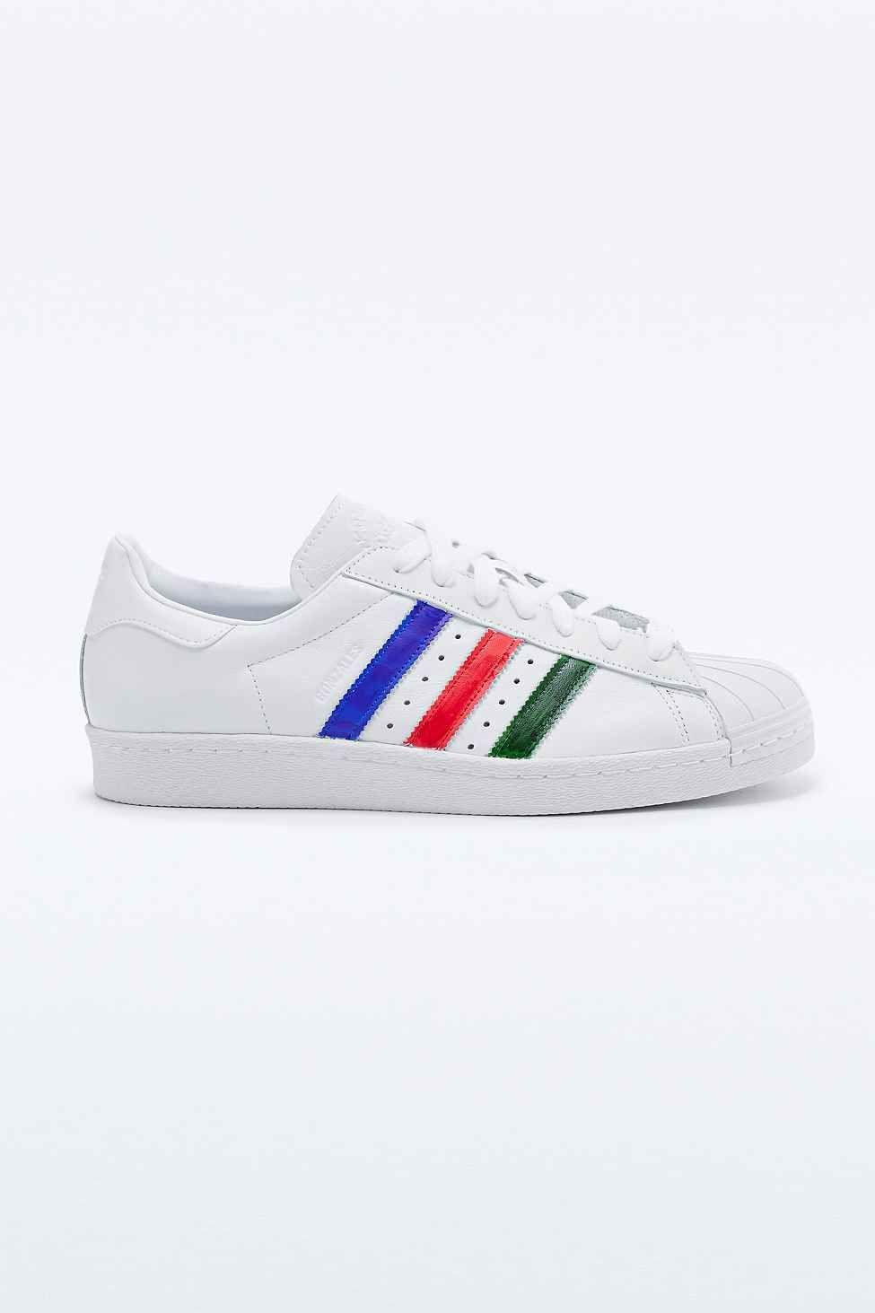 Adidas - Baskets Gonz Superstar 80s blanches