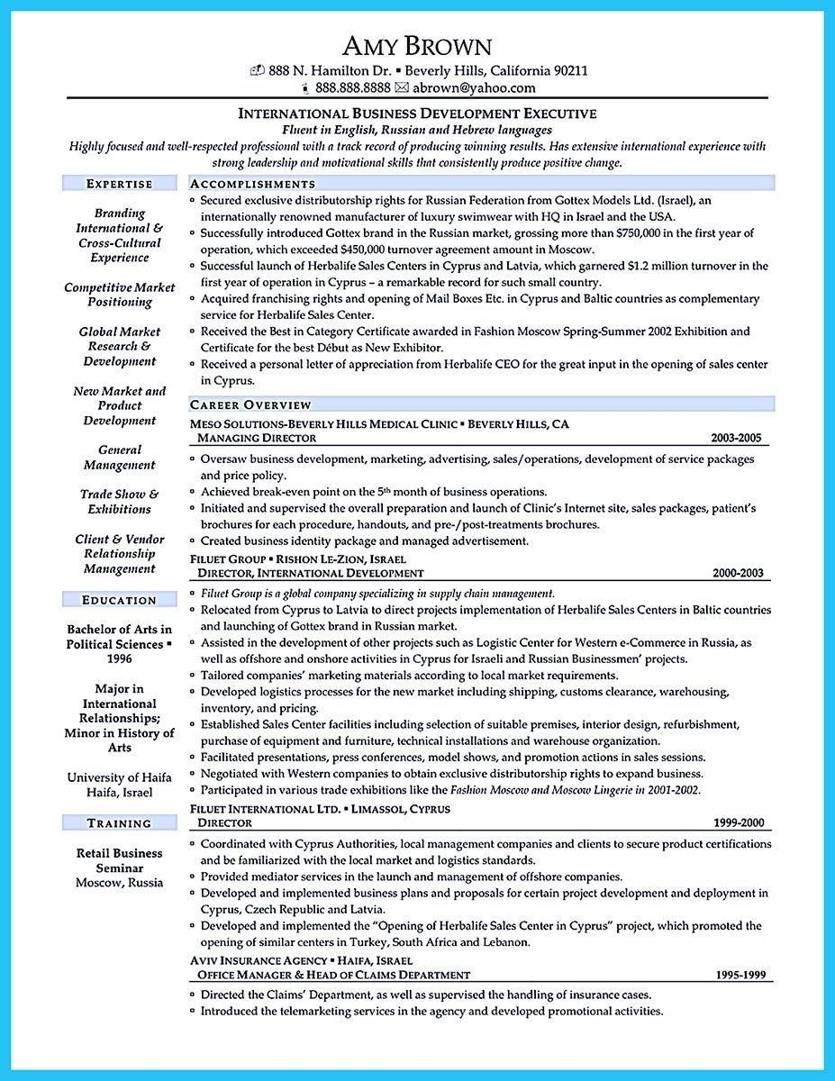 business development manager resume pdf resume template pinterest