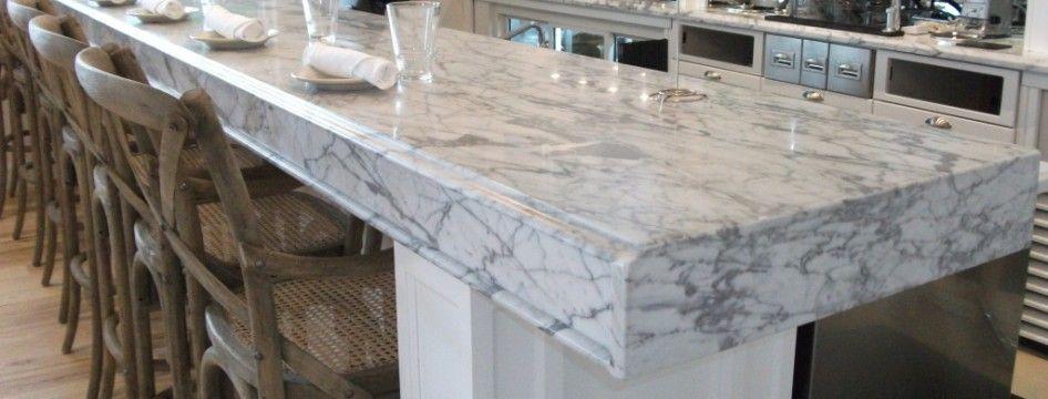 White Granite That Looks Like Marble Carrera Marble Bartop