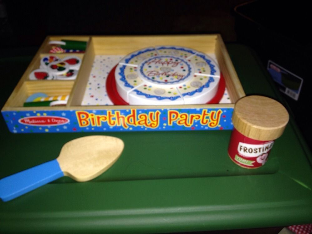 Happy Birthday Party Cake Toy By Melissa And Doug Age 3