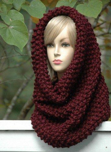 Exelent Hooded Cowl Pattern Crochet Frieze - Easy Scarf Knitting ...