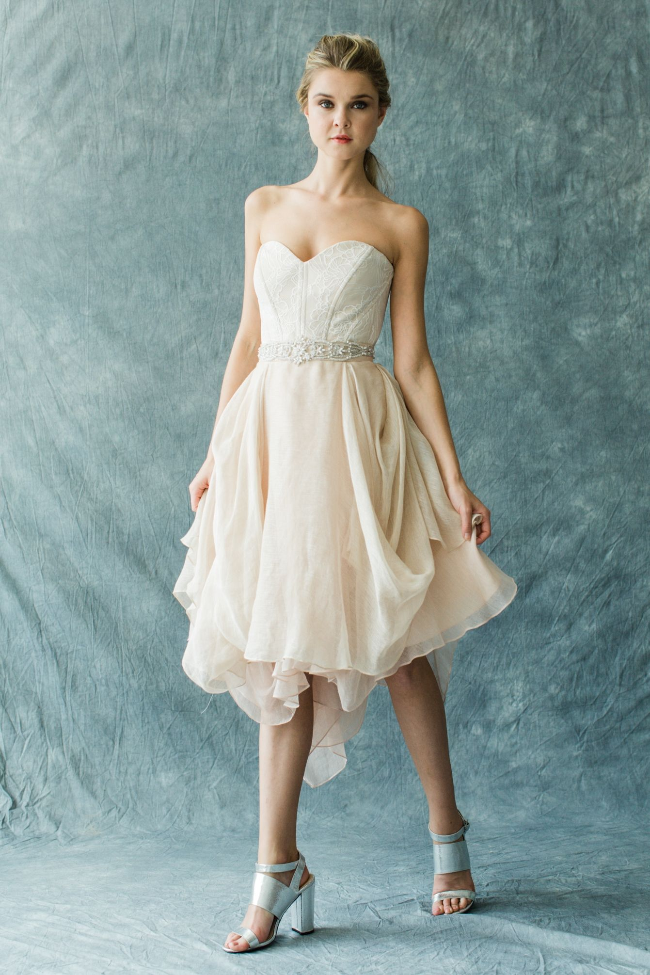 The short version of our favorite Kensington gown! Pair with an easy ...