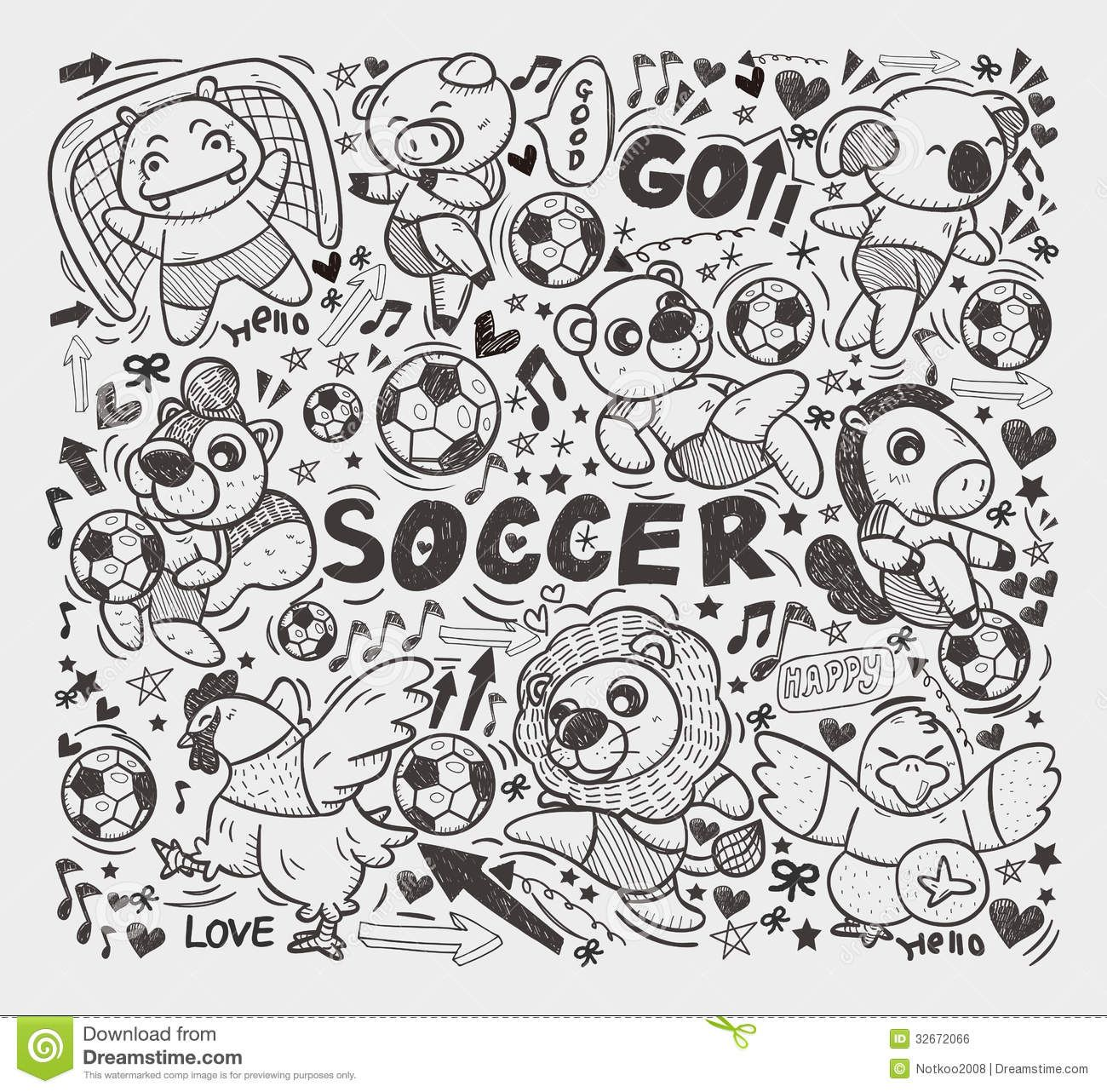 doodle soccer Hľadať Googlom Soccer drawing