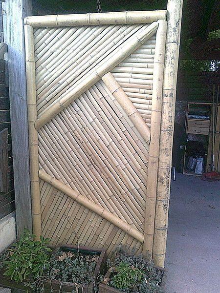 Sode gaki - panneaux traditionnels en bambou pour jardin japonais ...