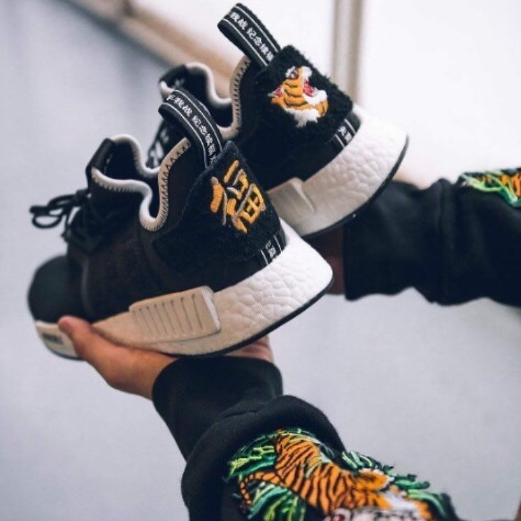 NMD X Neighborhood #staydrapedup in 2019 Chaussures Hype  Hype shoes