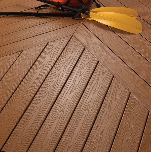 Plastic vs Composite decking pvc deck low maintenance durable decks |  Building a deck, Composite decking, Deck design