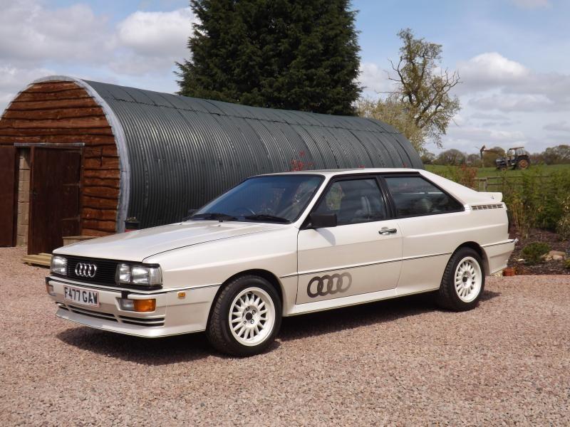 1988 Audi Quattro Turbo Cool Cars And Trucks Pinterest Audi