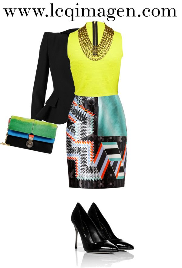 """""""AFTER OFFICE"""" by lgarcia-1 on Polyvore"""