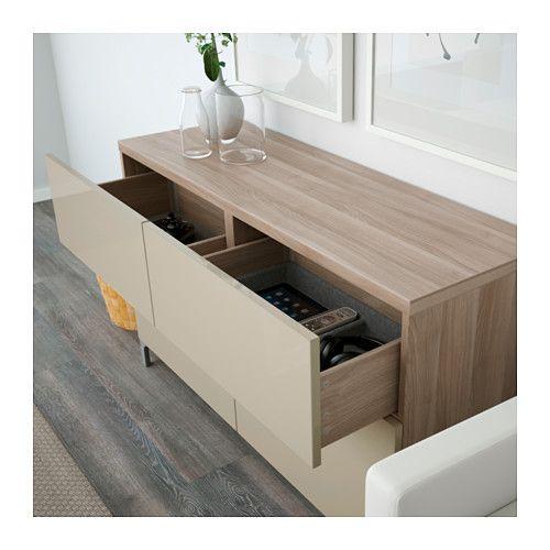 best rgt portes tiroirs effet noyer teint gris. Black Bedroom Furniture Sets. Home Design Ideas