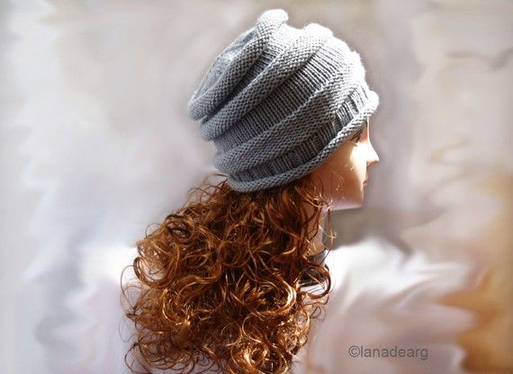 Free Slouchy Hat Knitting Pattern Vikulya 144 Pm 6