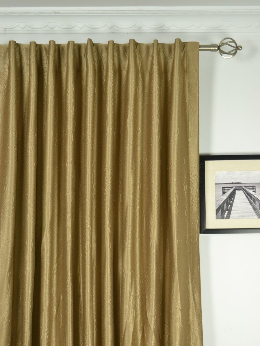 Extra Wide Swan Fl Damask Back Tab Curtains 100 120 Inch Curtain Panels Cheery Ready Made And Custom For Less