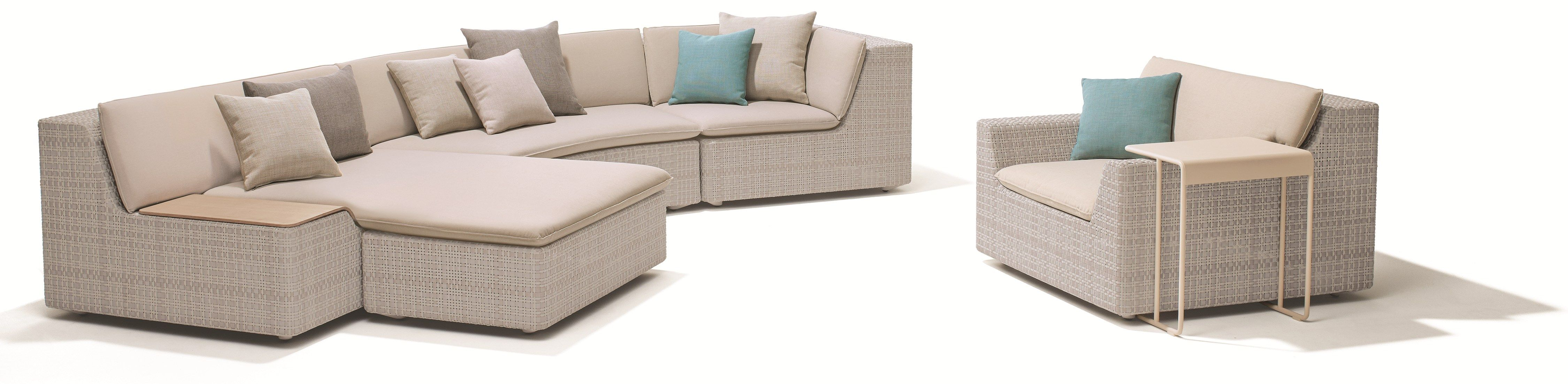 LOU Sectional sofa Lou Collection by Dedon design Toan Nguyen