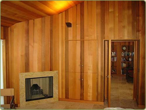 Wall And Ceiling Western Red Cedar Paneling Image Wanden Hout