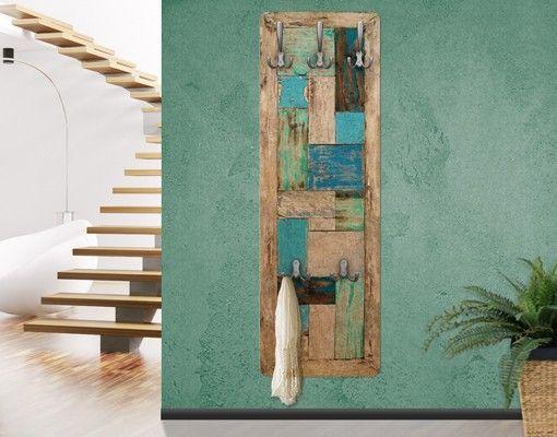 Garderobe Maritim garderobe vintage - rustic timber - natura maritim | wandgarderoben