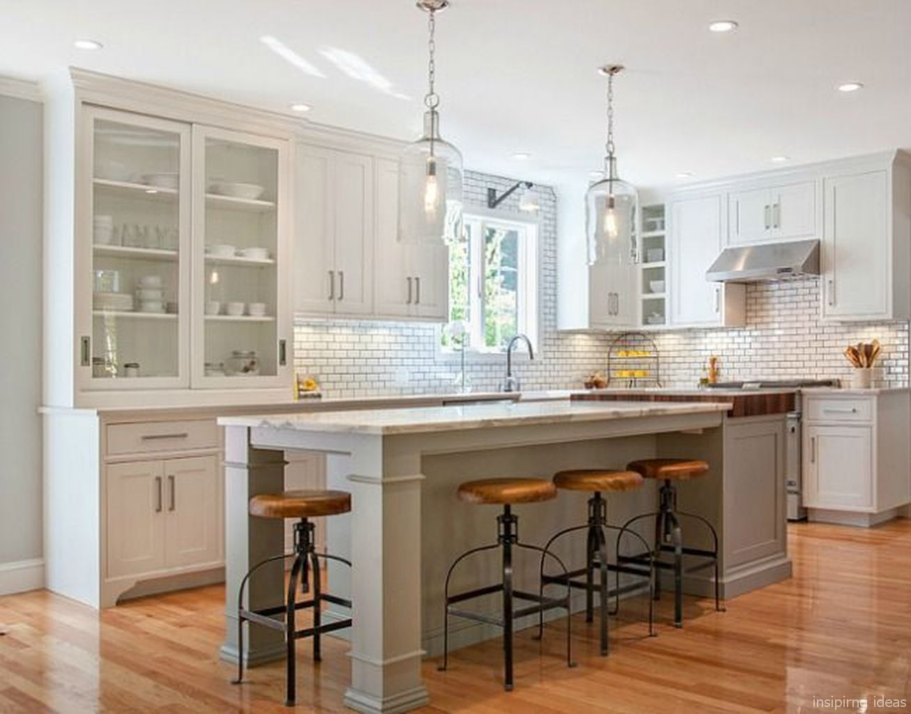 beautiful modern farmhouse kitchen backsplash ideas 77 on country farmhouse exterior paint colors 2021 id=82550