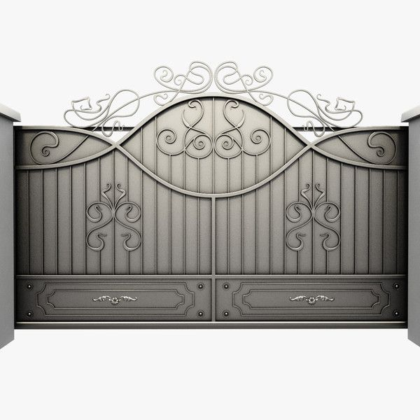 Pics Photos 3d Model Wrought Iron Gate Wrought Iron Gate By