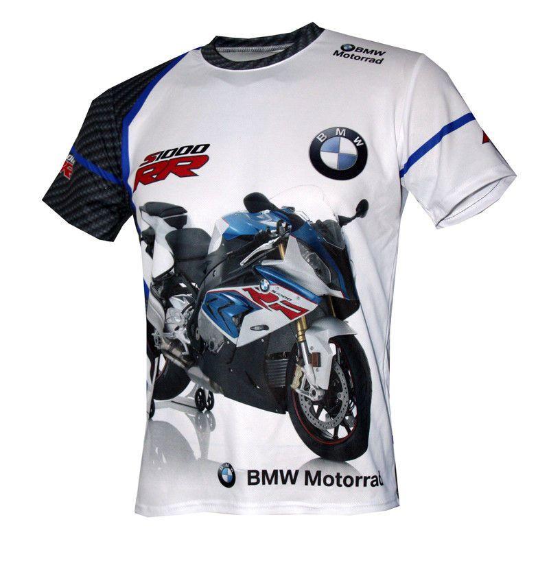 be45b1e590de1 BMW S1000RR Motorrad unique handmade sublimation graphics logos men s t- shirt 9