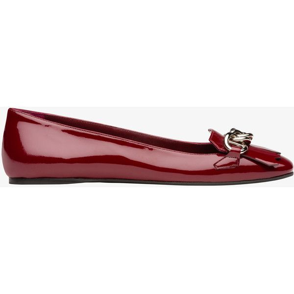 PRADA Ballerina ( 690) ❤ liked on Polyvore featuring shoes 471410a855