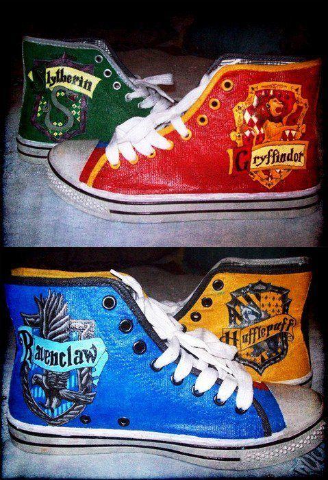 2converse harry potter scarpe
