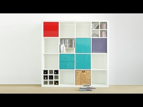 Ikea regalsystem kallax  IKEA-Regal KALLAX (Teil 1) - unboxed! | For my Room | Pinterest ...